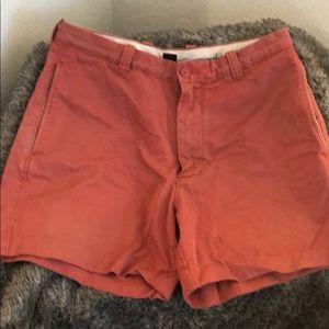 Burnt orange/red shorts
